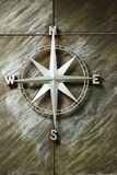 Kierunku kompas Wzrastał Zdjęcia Stock