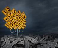 Kierunku Strategii Decyzje Zdjęcie Stock