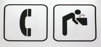 kierunku znak Obrazy Royalty Free