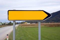 kierunku znak Zdjęcie Royalty Free