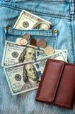 Kiesa pieniądze obrazy royalty free