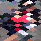Kiesel-abstrakter niedriger Polygon-Hintergrund Stockfoto
