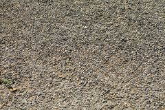 Kiesel Boden, Gehweg hat Eigenschaften lizenzfreies stockbild