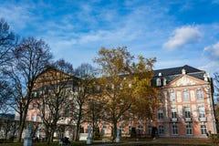 Kiespaleis in Trier in de herfst, Duitsland Royalty-vrije Stock Afbeeldingen