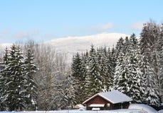 Kiesruck in winter Stock Photo