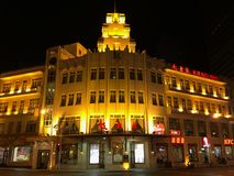 Kiessling Restaurant in Tianjin city, China. Kiessling is the first foreign restaurant in Tianjin city and one of the first western-style restaurants in China royalty free stock photography
