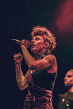 Kiesza in Moscow Stock Images