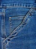 Kieszeniowi niebiescy dżinsy Zdjęcie Royalty Free