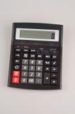Kieszeniowy kalkulator na białym tle przygotowywającym używać Fotografia Stock