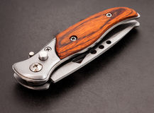 Kieszeniowy nóż. Obraz Royalty Free