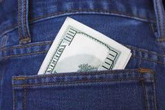 Kieszeniowy pieniądze. Obrazy Royalty Free