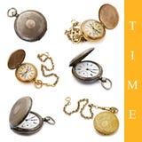 kieszeniowy ustalony zegarek Obraz Royalty Free
