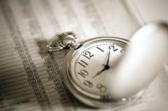 kieszeniowy zegarek Obrazy Royalty Free