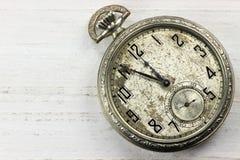 Kieszeniowy zegarek 01 Fotografia Royalty Free