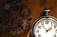 Kieszeniowy zegarek I przekładnie Obrazy Stock