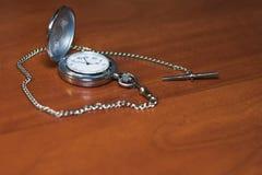 kieszeniowy zegarek z fotografia stock