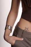 kieszonkowy spodni ręce Obraz Stock