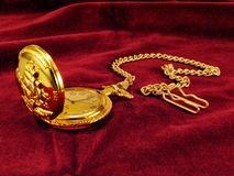 kieszonkowy zegarek Fotografia Royalty Free