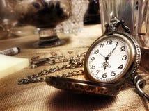 kieszonkowy zegarek Obraz Stock