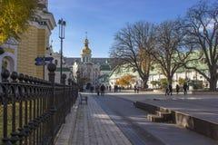 Kiev è il capitale dell'Ucraina fotografia stock libera da diritti