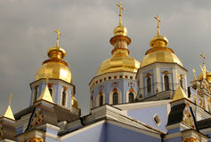 Kiev. The old Michail cathedral in Kiev Ukraine Royalty Free Stock Photography