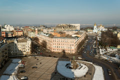 Kiev from above Royalty Free Stock Photo