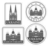 Kiev abstrato ilustração royalty free