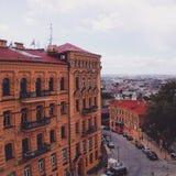 Kiev affärsföretag, arkivbild