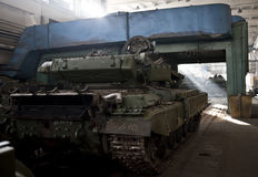 Kiev armored factory Royalty Free Stock Images