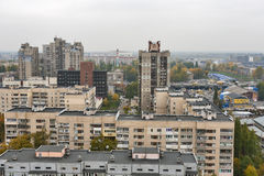 Kiev autumn cityscape Stock Photo