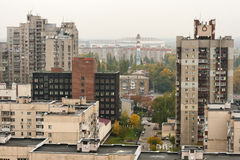 Kiev autumn cityscape Royalty Free Stock Photography
