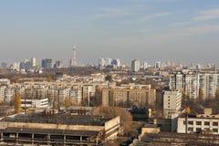 Kiev autumn cityscape Stock Images