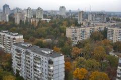 Kiev autumn cityscape Royalty Free Stock Image