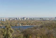 Kiev in autumn Stock Images