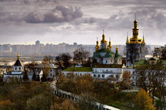 Kiev. Autumn viewsight mear -Pechersk Lavra Stock Image