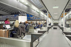 Kiev Borispol flygplats Arkivbild