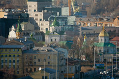 Kiev business and industry city landscape Stock Images