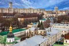 Kiev - capitale di, l'Ucraina, vista panoramica della città Immagine Stock