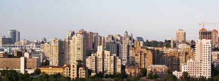 Kiev Central Business District. Ukraine. Royalty Free Stock Photos