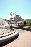 Kiev central fyrkant Royaltyfri Bild