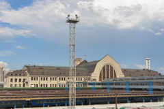 Kiev Central Railroad Station Royalty Free Stock Images