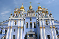 Kiev church stock photo