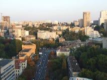Kiev-città al giorno Fotografia Stock