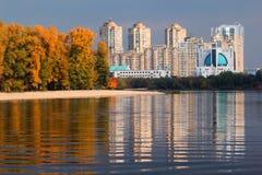 Kiev city in Autumn Stock Photography