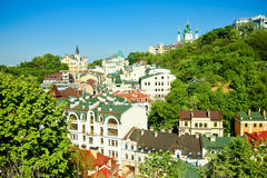 Kiev City the capital of Ukraine Royalty Free Stock Image