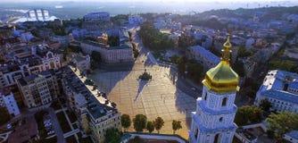 Kiev city center. Sophia Square Royalty Free Stock Photography