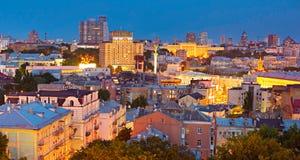 Kiev city center. Ukraine Royalty Free Stock Photo