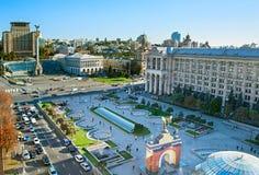 Kiev city center, Ukraine Royalty Free Stock Image