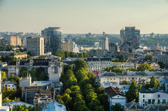 Kiev city day view, panorama Kiev, Ukraine Stock Photo