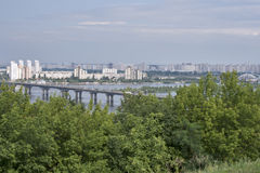 Kiev cityscape Royalty Free Stock Photography